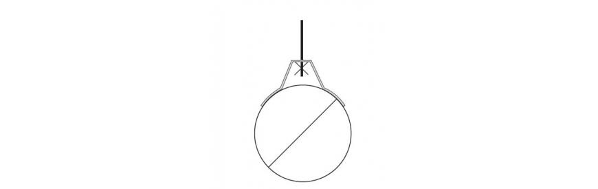 Závesy pre kruhové potrubie